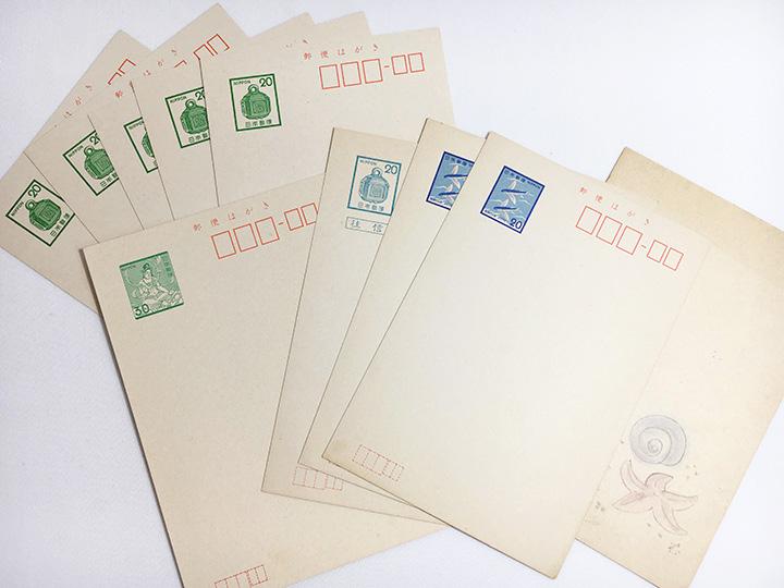 ハガキ買取事例:古い郵便はがき